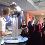 16 мая 2014 года учащиеся старших классов посетили Московский планетарий