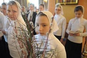 23 апреля 2016 года. Лазарева суббота. Всенощное бдение в Покровском ставропигиальном женском монастыре